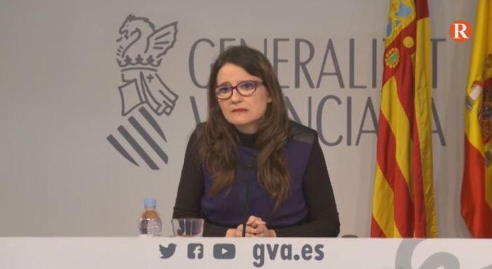 """Oltra: """"Rajoy s'ha beneficiat de la corrupció per a eixir de candidat i arribar al Govern"""""""