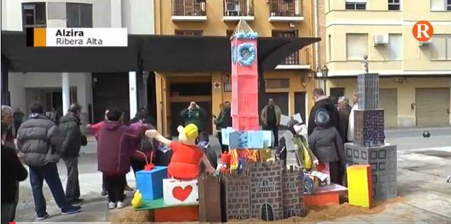 AFARADEM celebra una jornada festiva amb motiu de les Falles