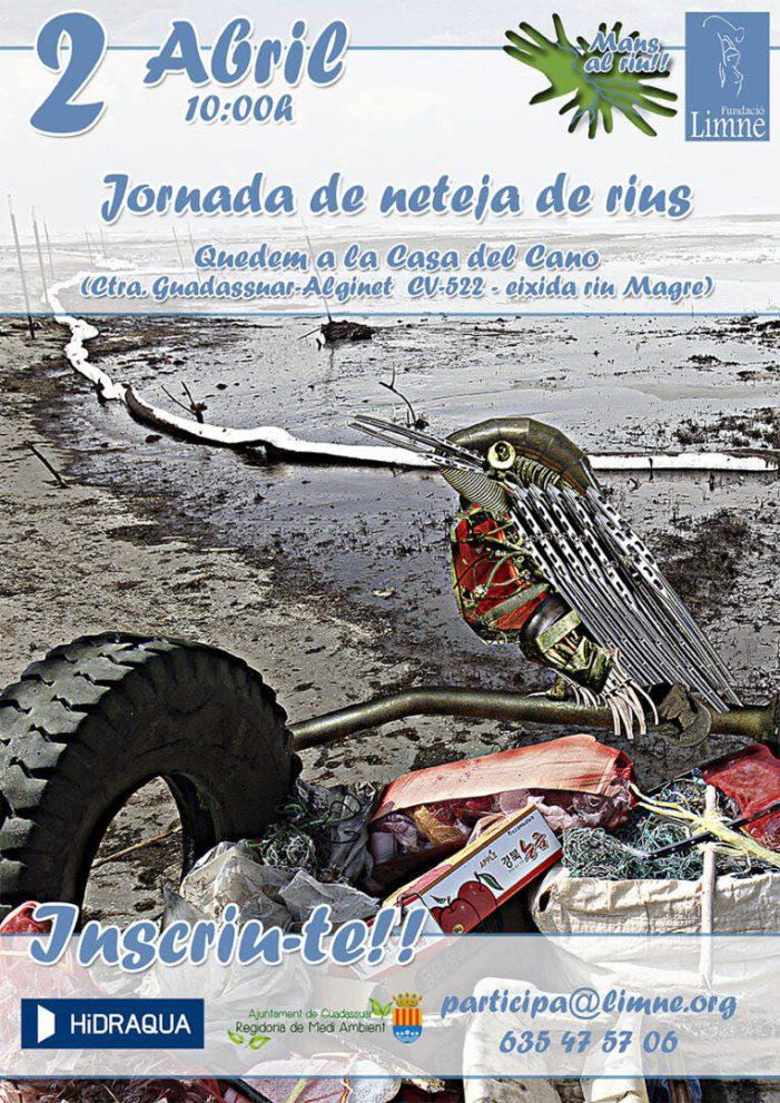 """Guadassuar es suma a la campanya """"Mans al Riu!"""""""