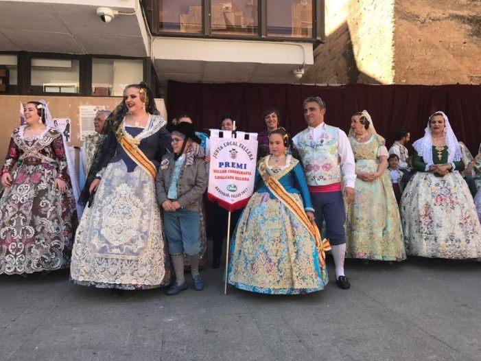"""La comisión La Verge de Benifaió logra el """"doblete"""" en los Premios Fallas 2017"""
