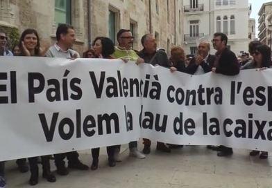 """El poble valencia diu """" prou"""" i demana un finançament just"""