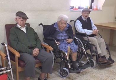 Rodríguez visita les actuacions realitzades  a la residència de la Tercera Edat