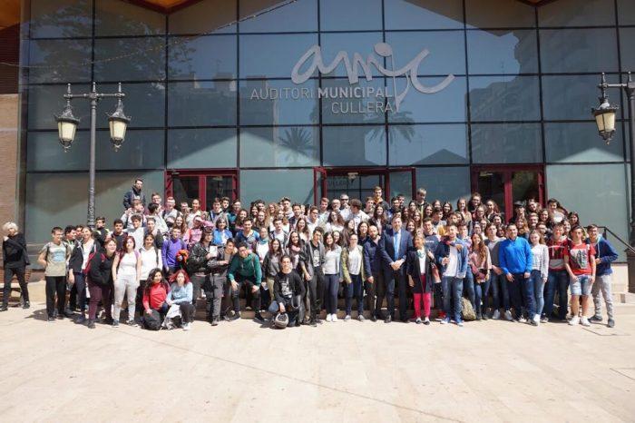 Cullera selecciona alumnes de Batxillerat per a conèixer les institucions europees