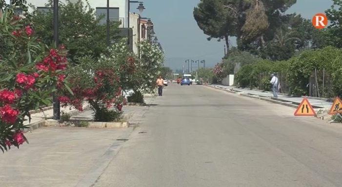 Rafelguaraf posa en marxa les obres d'un nou carril bici al carrer Furs Valencians