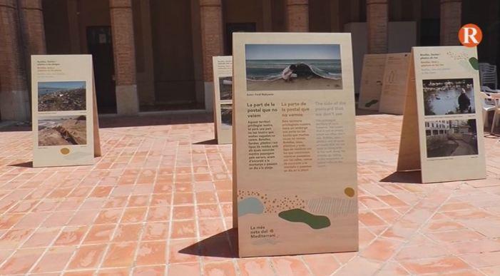 Una exposició itinerant aborda en Alzira la problemàtica de l'abandonament de residus