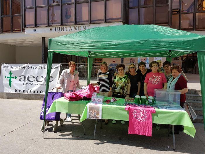 Benifaió inicia la programación del mes de mayo contra el cáncer