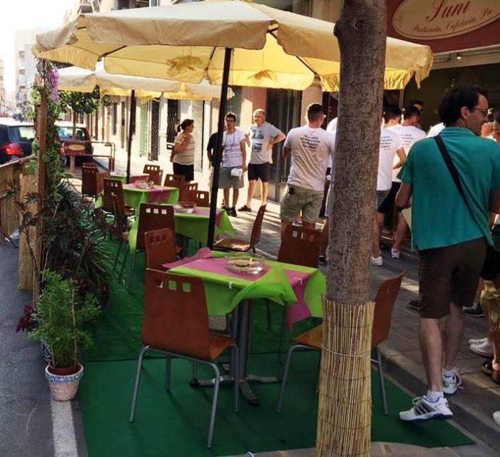 La Cafeteria Capricho guanya el cinquè concurs de decoració de terrasses d'Alberic
