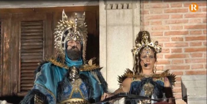 Castelló tanca les seues festes de Moros i Cristians amb l'Ambaixada Mora i Cristiana