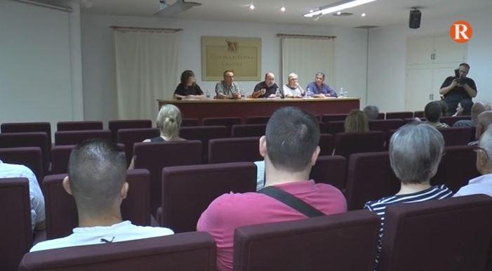 """Baldoví fa una crida """"al diàleg"""" en la xerrada celebrada a l'Alcúdia"""