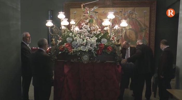 Tous celebra la processó en honor del patró