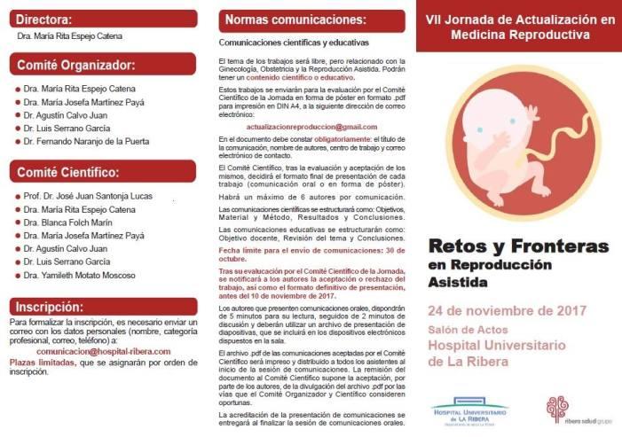 L'Hospital de La Ribera atén en l'últim any a un 25% més de parelles amb dificultats per aconseguir un embaràs