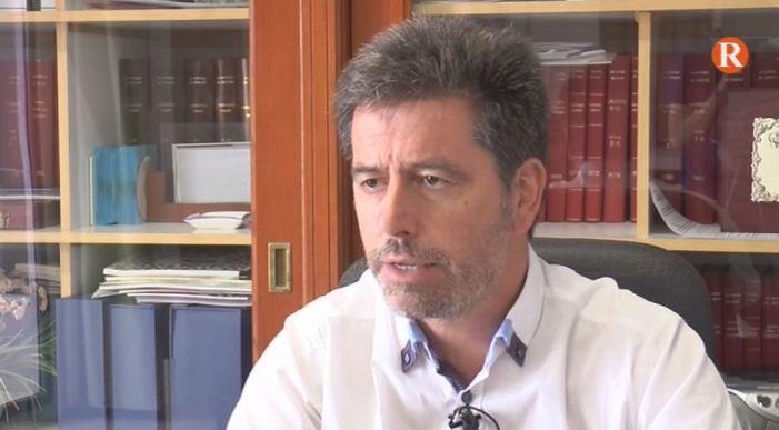 L'Alcalde d'Alcàntera de Xúquer, reconegut per la Guàrdia Civil de Càrcer