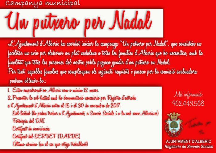 Alberic renova la seua campanya solidària per a alimentar a les famílies necessitades amb un putxero tradicional