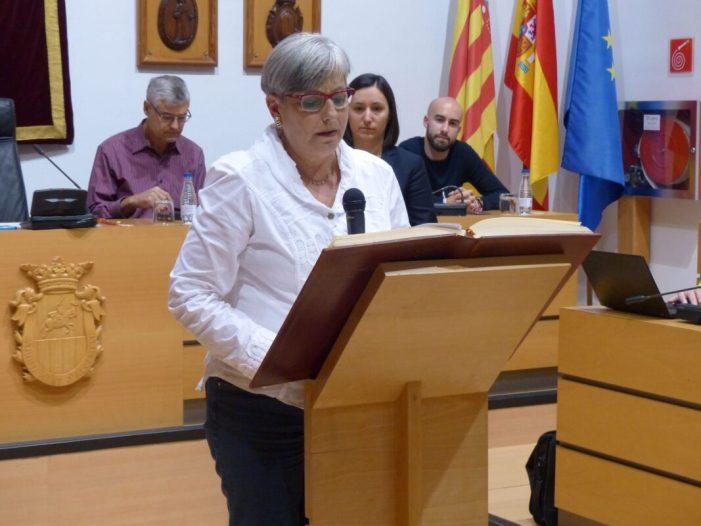 Fina Machí, nova regidora d'Esquerra Unida, assumeix les àrees d'Educació, Igualtat i Agermanaments
