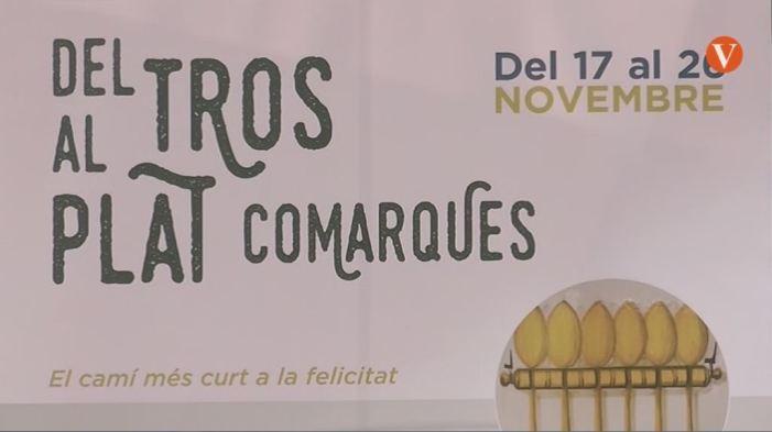 """Pilar Moncho ha presentat """"Del tros al plat comarques"""" a La Marina"""