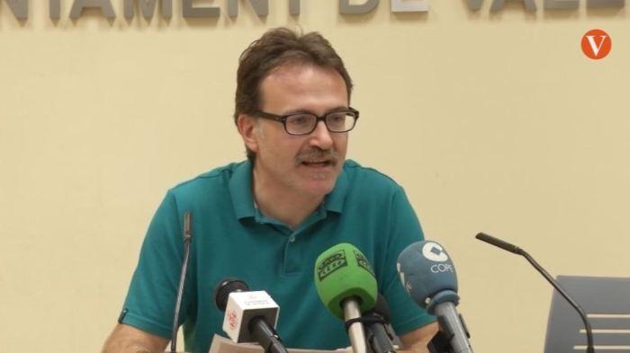 Giuseppe Grezzi ha informat sobre l'aprovació de dos noves obres d'un carril bus al carrer de Navarro Reverter i un intercanviador a la Porta del Mar en València