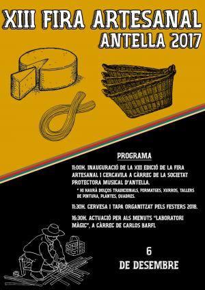 Antella celebra desenes d'actes en la seua XIII Fira Artesanal