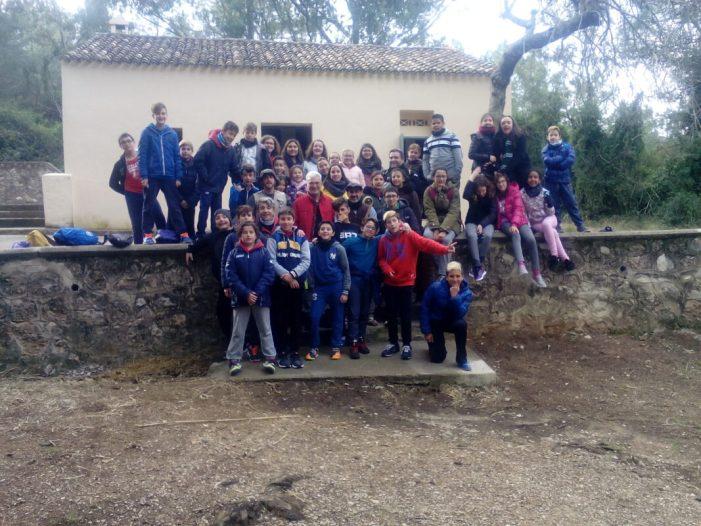 Els escolars de cinqué i sisé reben formació d'educació ambiental a la Casella