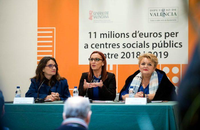 La Diputació construirà sis nous centres socials públics amb una inversió bianual d'11 milions d'euros