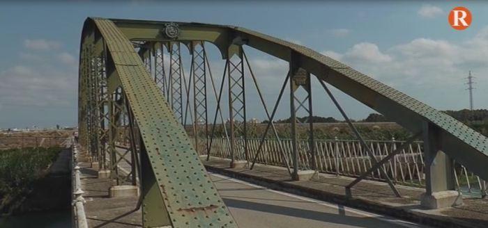 Diputació de València invertirà 1 milió d'euros en Fortaleny per a rehabilitar el pont de ferro