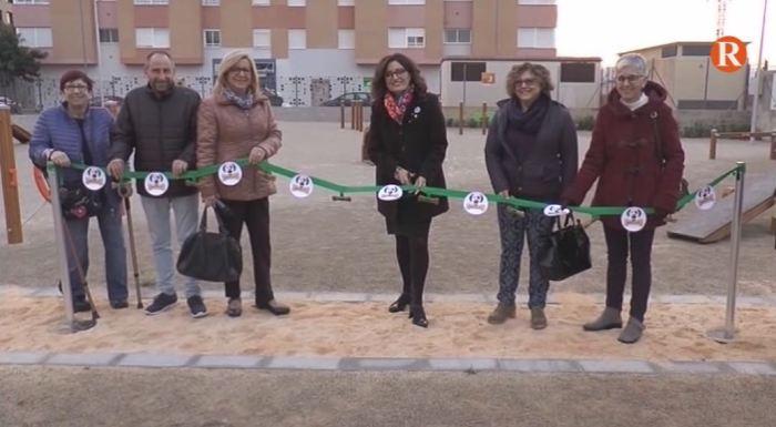 Carlet obri les portes del primer parc caní a la població