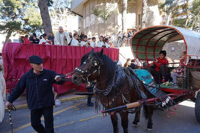 El barri de Sant Antoni de Cullera es prepara per a les seues festes