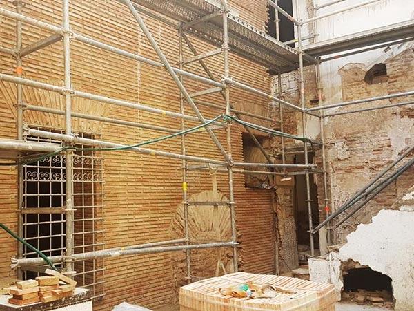 Les obres de la segona fase van donant forma al Palau de Casassús d'Alzira