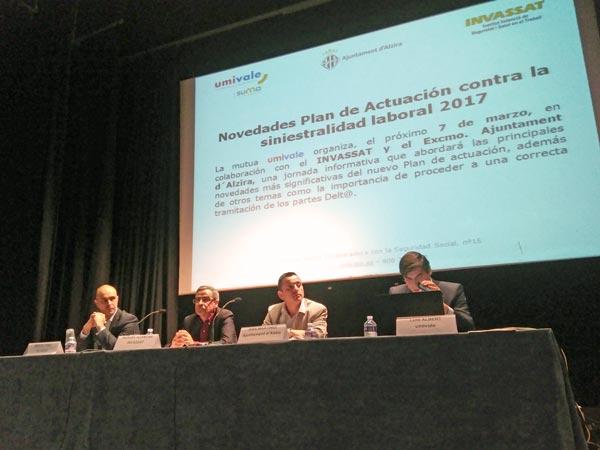 L'Ajuntament d'Alzira redueix la sinistralitat laboral en un 47% en el 2017