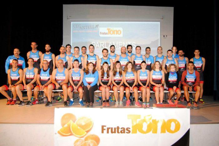 Antella presenta al seu nodrit equip de triatló