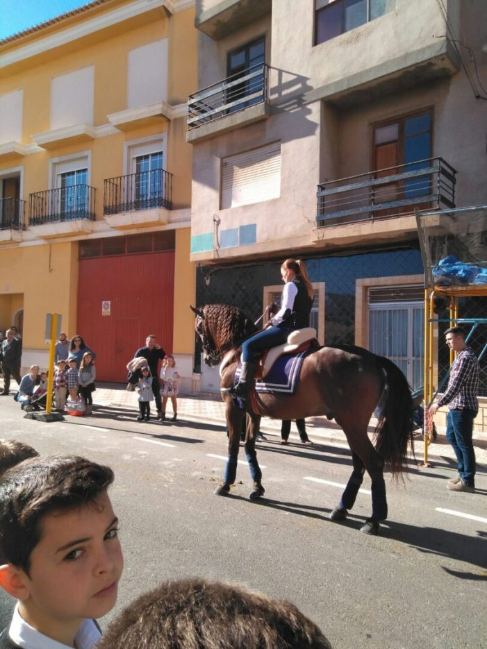 Els amants dels animals es reuneixen per a commemorar la festa de Sant Antoni a Almussafes