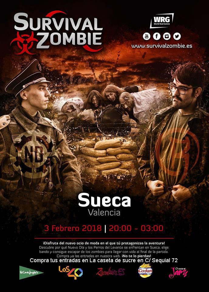 Sueca es prepara per a la invasió zombie