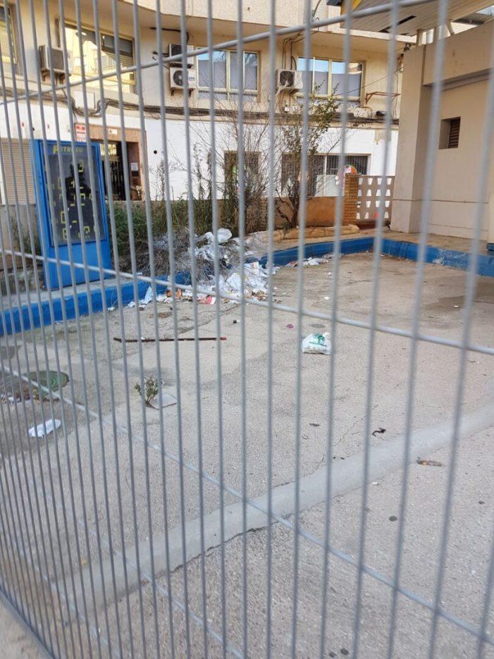 Ciutadans (Cs) d'Alzira exigix al tripartit la neteja de la gasolinera de Luis Suñer