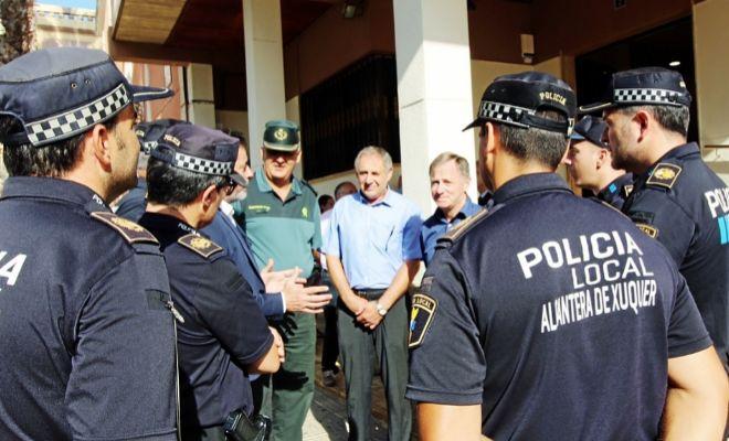 Càrcer y Alcàntera de Xúquer invierten 8.000 euros para consolidar su Policía Local Unificada