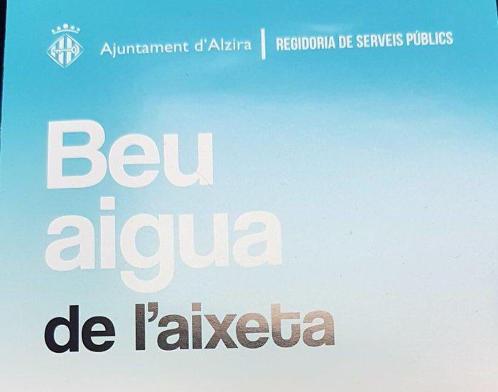 L'Ajuntament d'Alzira es marca com a objectiu obtindre l'aigua en menys nitrats de la història durant el primer trimestre de 2018