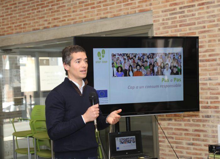 """Festa final del Projecte Europeu """"Pas a Pas"""" a l'Alcúdia 1.408 llars han estalviat un 8'5% d'electricitat"""