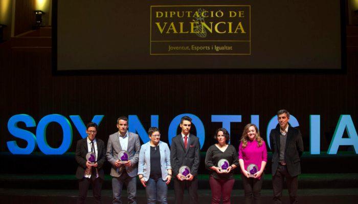 La Diputació premia les escoles dels clubs valencians a la Gala de l'Esport de la Comunitat