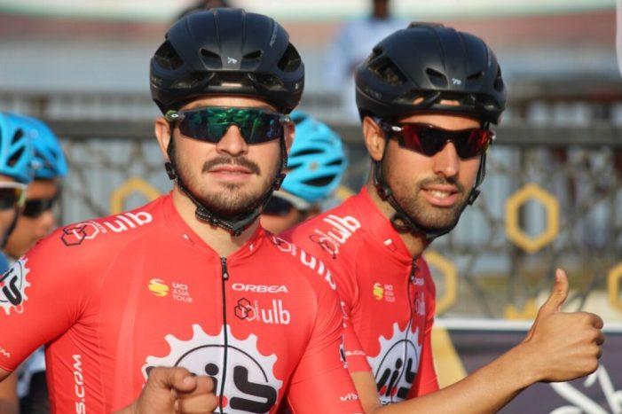 El ciclista almussafeny Eric Valiente comença la nova temporada en Dubái