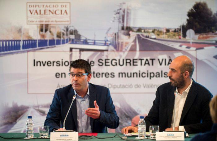 La instal·lació de pantalles acústiques en carreteres de Paterna, Godella, Miramar i Sant Antonio minimitzarà el soroll en els col·legis i residències de l'entorn