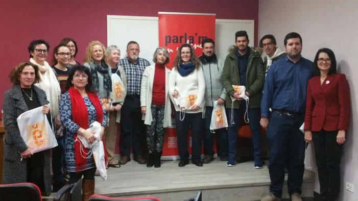 Almussafes presenta les seues parelles per al programa Voluntariat pel Valencià 2018