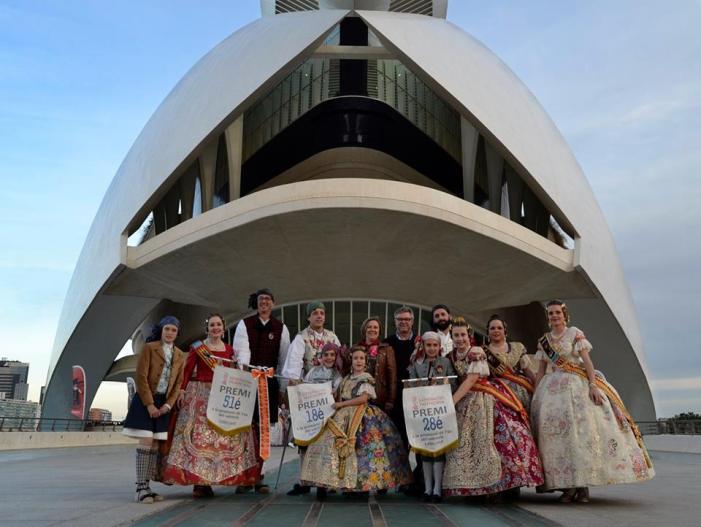 La Generalitat premia els llibrets de tres falles de Sueca