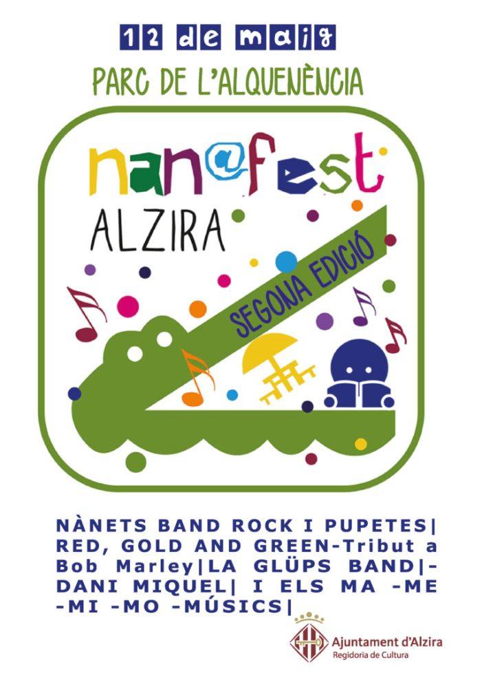 Alzira celebra un any més el Nan@fest