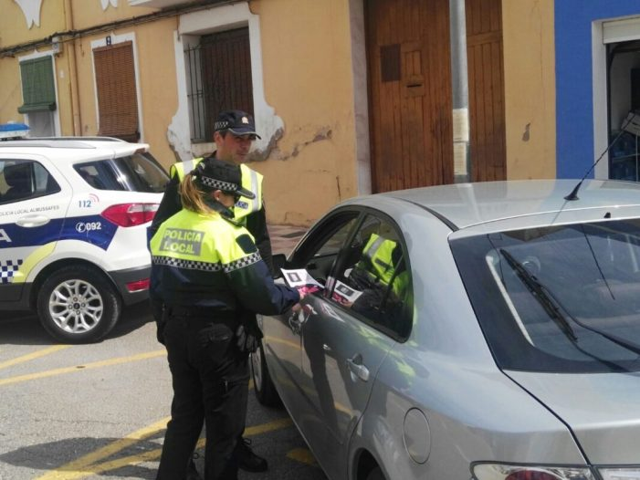 La Policia Local d'Almussafes implementa una nova campanya de conscienciació vial