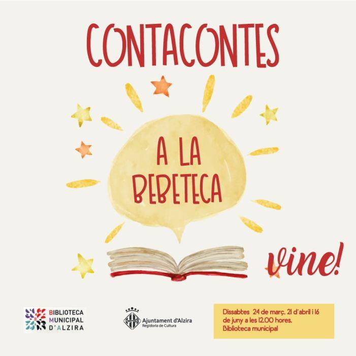 Alzira programa noves edicions de contacontes a la Bebeteca