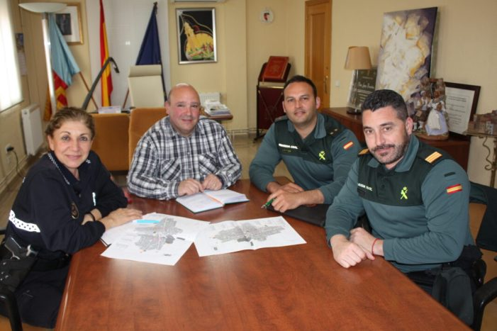 Policia Local i Guàrdia Civil coordinen el dispositiu de falles