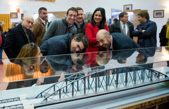 La Diputació porta la seua exposició sobre els ponts de ferro de la Ribera a la Setmana de l'Enginyeria de la UPV