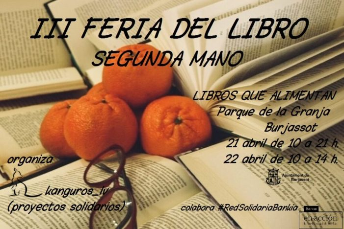 La III Feria del Libro de 2ª mano llega al Parque La Granja los días 21 y 22 de abril