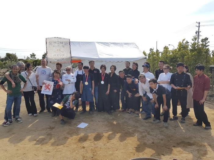 Un lustre de paelles al Japó amb el Concurs de Sueca
