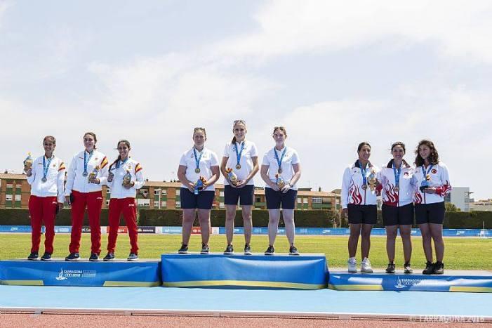 Nerea López, del Club de Tir amb Arc d'Almussafes, plata en els Jocs del Mediterrani