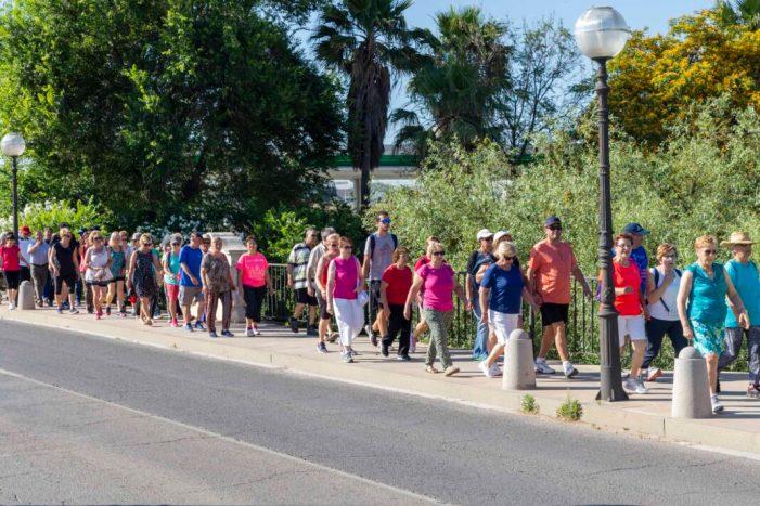 Una activitat saludable per als Majors a Picassent