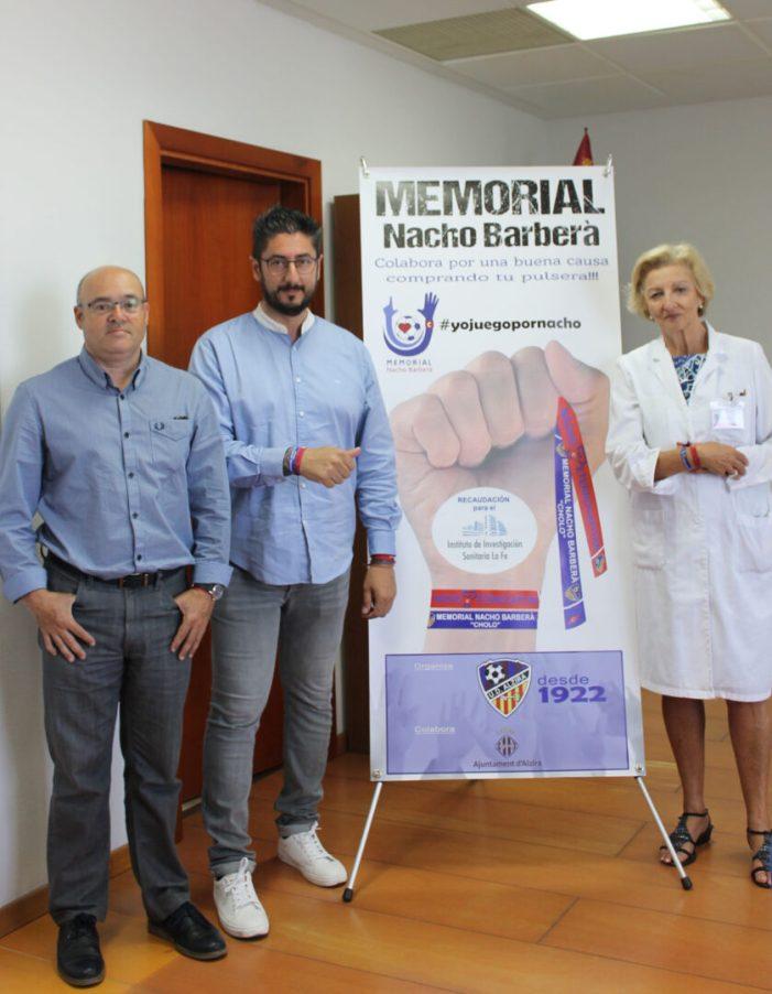 L'Hospital de la Ribera se suma al 'Memorial Nacho Barberà' contra la mort sobtada